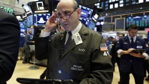 Auch die Wall Street spürt die Italien-Krise