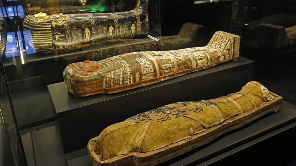 Mumie einer ägyptischen Sängerin war kastrierter Mann