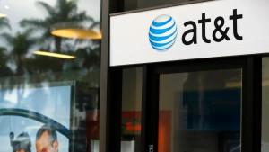AT&T gewinnt Mobiltelefonkunden hinzu