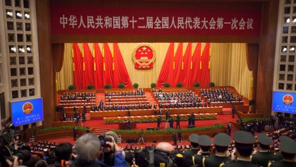 In China tagt das Parlament der Milliardäre