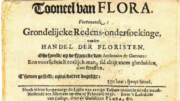 Eine Blumenzwiebel für 87.000 Euro