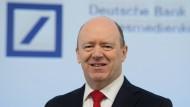 Hat seine Bank wirklich einen soliden Großaktionär aus China? John Cryan, Vorstandschef der Deutschen Bank.