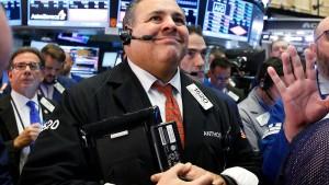 Kein Trump-Schock an der Wall Street