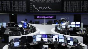 Anleger nach starkem Jahresauftakt vorsichtig