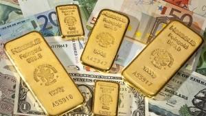 Deutsche wollen lieber Gold und Bares als Aktien