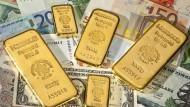 Gold und Bares liegt in der Anlagegunst der Deutschen ganz vorne.