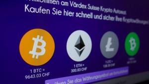 Finger weg von Bitcoin
