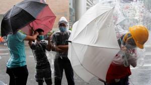Hongkonger Banker solidarisieren sich mit den Demonstranten