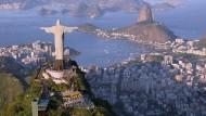 Die Christus-Statue in Rio.
