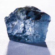 Blauer Rohdiamant aus Südafrika