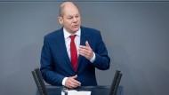 Niedrigzins-Gewinner: Bundesfinanzminister Olaf Scholz