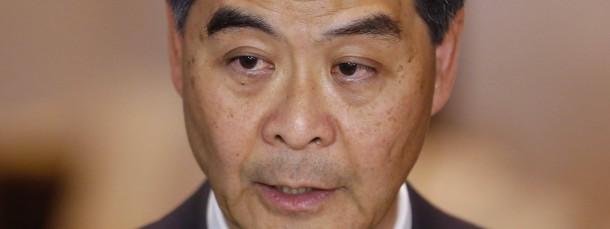 Hongkongs Verwaltungschef Leung Chun-ying