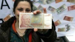 Serbischer Dinar reagiert positiv auf Karadzic-Verhaftung