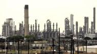 Ölraffinerie in Texas