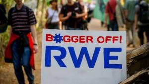 Der erstaunliche Sturz der RWE-Aktie