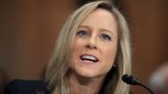 Neuzugnag ohne Finanzexpertise: die neue Behörsenchefin Kathy Karninger
