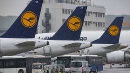 Aktienkurs der Lufthansa fällt stark