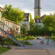 Im Uferwerk in Brandenburg wurden Schutzzonen für ältere Bewohner eingerichtet.