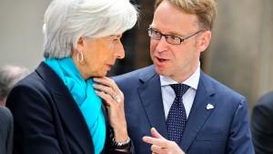 Höhere Inflation lässt EZB-Rat nicht kalt