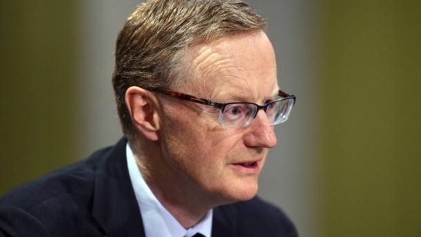 Australiens Notenbankgouverneur warnt vor Eskalation