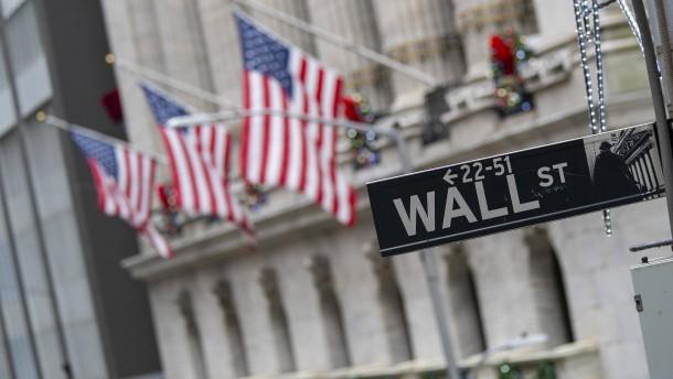 Börsen stoppen Erholungsrally