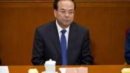 Auf dem Volkskongress im Frühjahr galt Sun Zhengcai noch als möglicher Nachfolger von Staats- und Parteichef Xi.