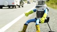 Reisender Roboter kommt nach Deutschland