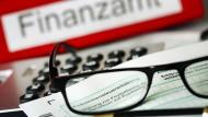 Formulare, Formulare: Vordruck für eine Einkommensteuererklärung