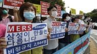 Samsung entschuldigt sich für Mers