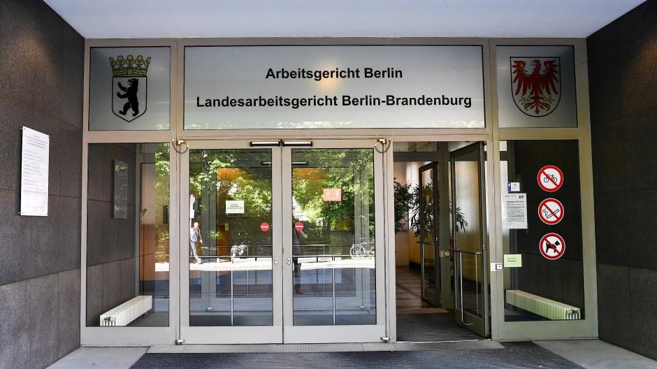 Das Arbeitsgericht in Berlin.