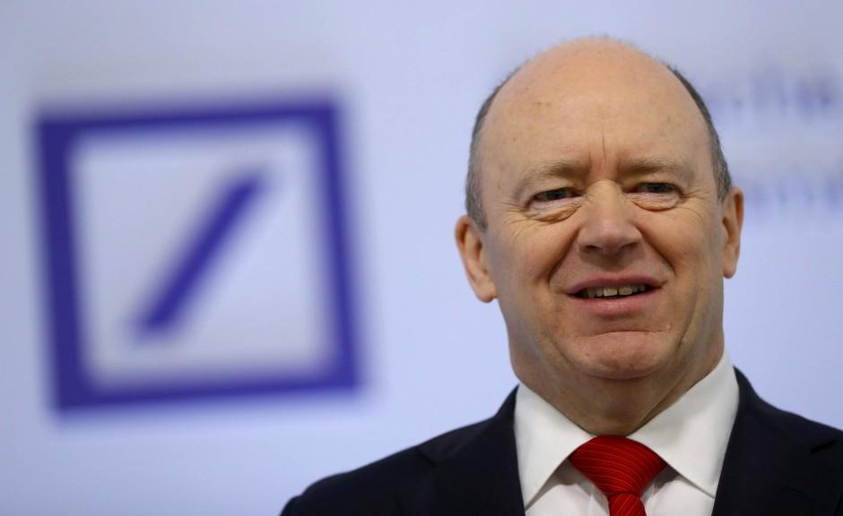 Bild Zu Dax Konzerne Ziehen Bilanz Deutsche Bank Aktie