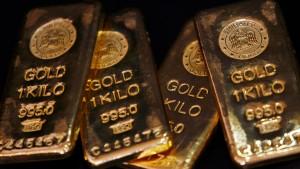 Der Goldpreis klettert erstmals über 1500 Dollar