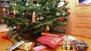 Als Weihnachtsgeschenk ist Geld wenig beliebt