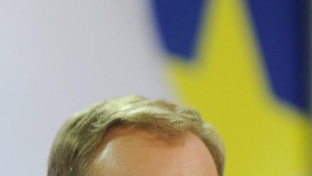 Neuer EU-Ratsvorsitzender Donald Tusk tritt in Brüssel an
