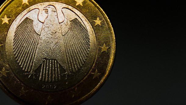 Die Rendite 10-jähriger Bundesanleihen sinkt unter null Prozent