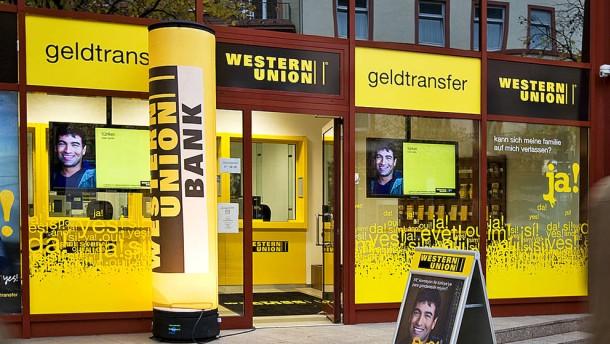 Western Union Bezahlen