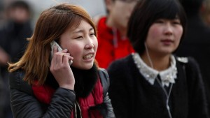 Smartphone-Nutzer haben in China jetzt Vorfahrt