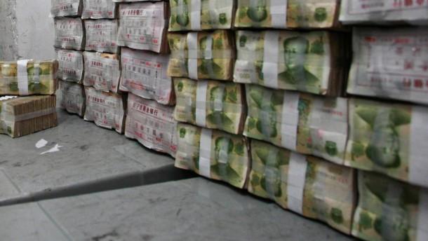 Wenig Aufwertungsdruck auf Yuan