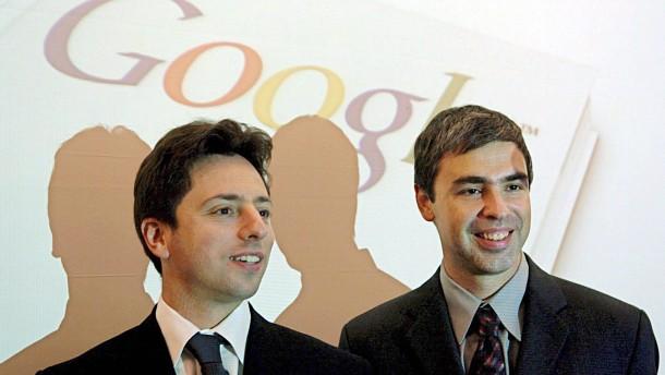 Google-Gründer verkaufen Aktien für mehrere Milliarden Dollar