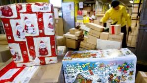 So kommt das Paket vor Weihnachten an
