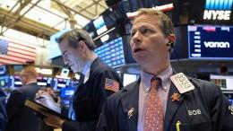 An der Börse wird's immer wilder