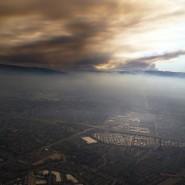 Rauchschwaden über dem Silicon Valley: Anleger sorgen sich, dass die Kursgewinne das Schicksal des Waldes teilen.
