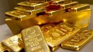 Gold ist bei den Anlegern wieder besonders beliebt.