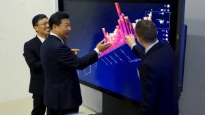 Chinas Präsident macht Internetkonzernen wenig Hoffnung
