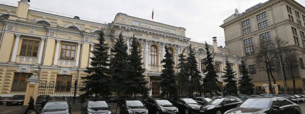 Die russische Zentralbank in Moskau