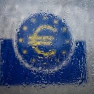 Trübe Stimmung: Symbol des Eurosystems