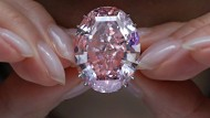 Teuerster Diamant der Welt wird in Hongkong versteigert