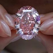 """Strahlt so schön: """"Pink Star"""", der teuerste Diamant der Welt"""