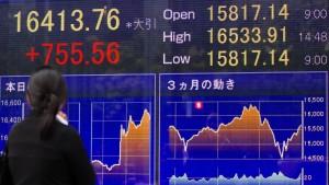 Deutscher Aktienmarkt jubelt dank japanischer Geldpolitik