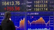 Anleger verzückt